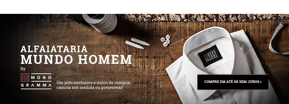 Vale Camisa Monogramma