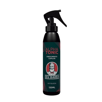 Alpha Tonic Antiqueda e Crescimento de Cabelo Seu Barba 120ml