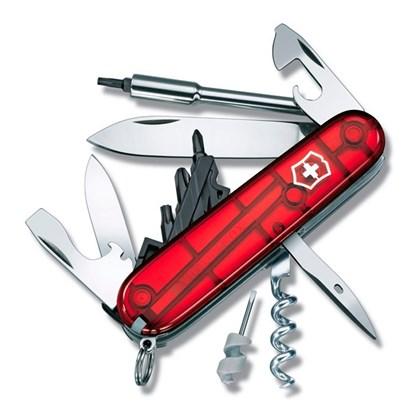 Canivete Victorinox  CyberTool  Vermelho Translúcido 29 Funções  1.7605.T