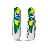 Canivete Victorinox Huntsman 15 Funções Pintura Brasil