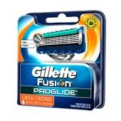 Carga Gillette Fusion Proglide com 4 Unidades