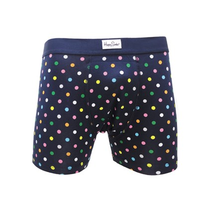 Cueca Happy Socks Dot Boxer Brief Bolas MUWJB-DOT-065