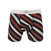 Cueca Happy Socks Polka Boxer Brief Listras MUWJB-POL-045
