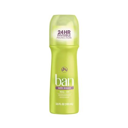 Desodorante Ban Roll-On Satin Breeze 103ml