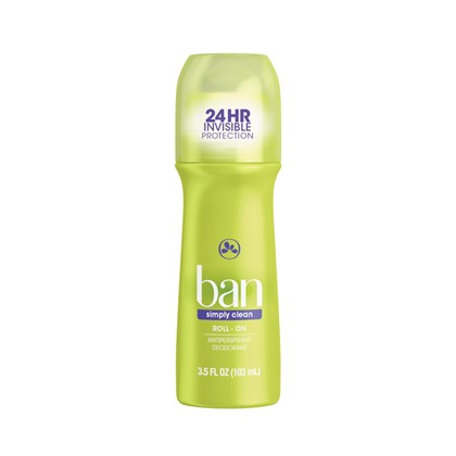 Desodorante Ban Roll-On Simply Clean 103ml