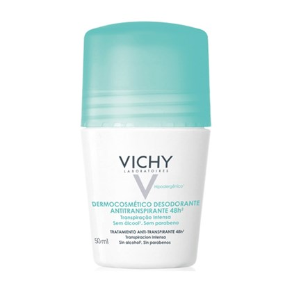 Desodorante Vichy 48hrs Roll-On Pele Sensivel 50ml