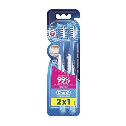 Escova Dental Oral-B Pro Saúde 7 Benefícios 2 Unidades