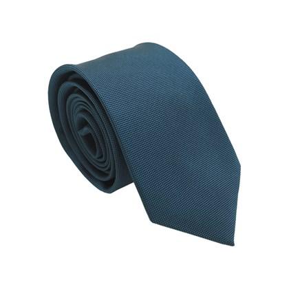 Gravata VR Collezioni 7cm Azul Médio