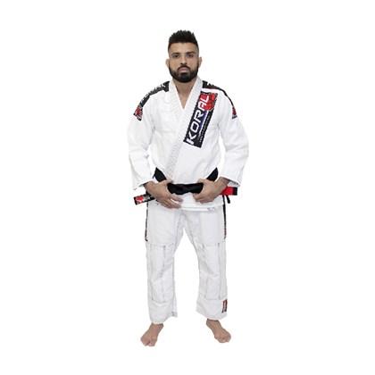Kimono Koral Mkm Competition Branco A3