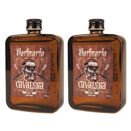 Kit 2 Loção Pós Barba Bay Rum Cavalera 100ml
