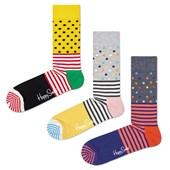 Kit 3 Meias Happy Socks SDO01 34-38