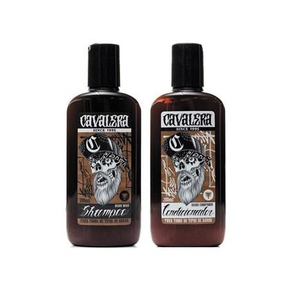 Kit Barba Shampoo e Condicionador Cavalera