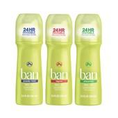 Kit Desodorante Ban Roll-On 103 ml