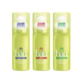 Kit Desodorante Ban Roll-On 44 ml