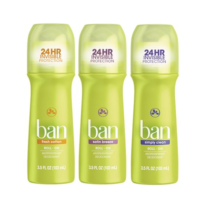 Kit Desodorante Ban Roll-On Opção 2 103 ml