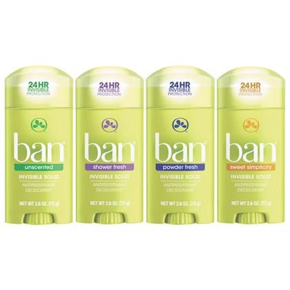 Kit Desodorante Ban Stick