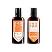 Kit Dupla Sobrebarba Shampoo e Balm Light My Fire