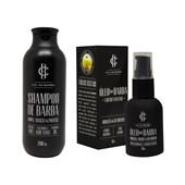 Kit Shampoo e Óleo de Barba Cia. da Barba