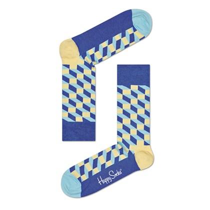 Meia Happy Socks FIO01-6001 34-38