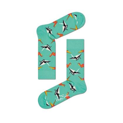 Meia Happy Socks Origami Sock - ORI01-7000 34-38