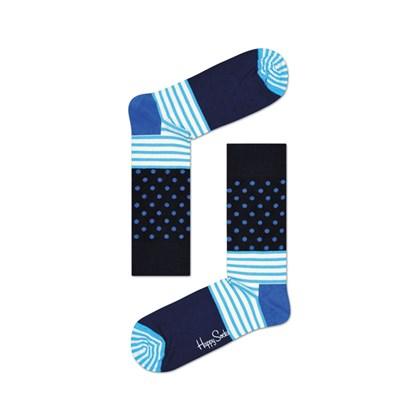 Meia Happy Socks Stripe Dot Sock - SD01-066