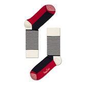 Meia Happy Socks Stripe Half SH01-068 34-38
