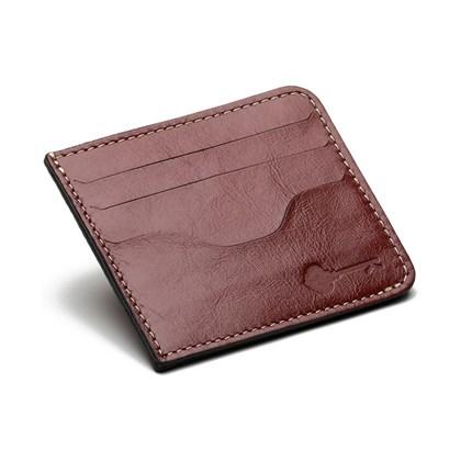 Porta Cartão Key Design Holder Red
