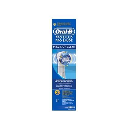 Refil para Escova Elétrica Precision Clean Oral-B com 2 unidades