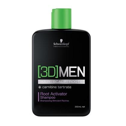 Shampoo Ativador de Raízes 3D Men Root Activator 250ml