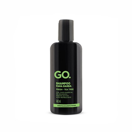 Shampoo de Barba GO Fresh Tea Tree 140ml
