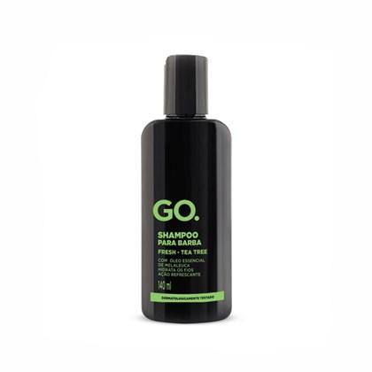 Shampoo de Barba GO Fresh Tea Tree 140ml