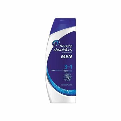Shampoo Head & Shoulders Anticaspa 3 em 1 400ml