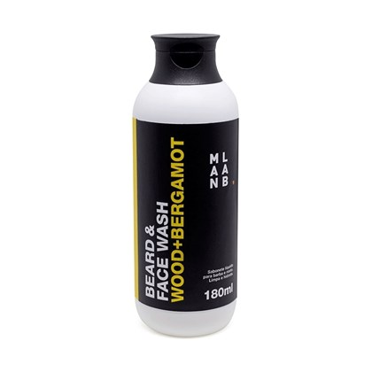 Shampoo Para Barba Man Lab Wood and Bergamot 180ml