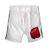 Short Fight MMA Koral Branco - G