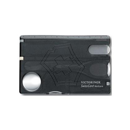SwissCard Nailcare Victorinox Translúcido Preto